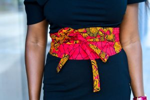 Ankara Obi Wrap belt
